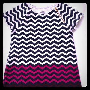 Gymboree Chevron Dress - Size 6
